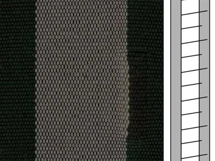 Textilstegband ZD50T FM576 44/53/T38 black-grey