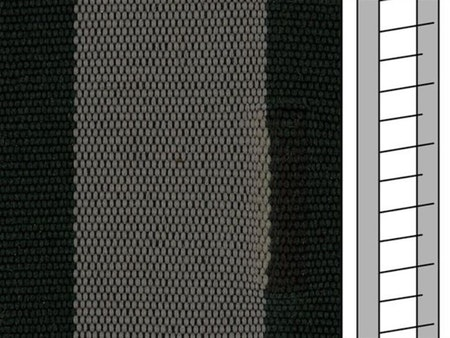Textilstegband ZD50T FM576 44/53/T38 black-grey (best.vara 10 dgr)