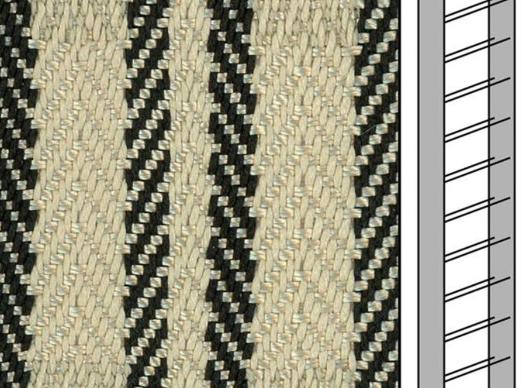 1 m / Textilstegband ZD50T FG580 44/53/T38 cream