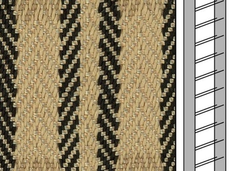 1 m / Textilstegband ZD50T FG582 44/53/T38 beige
