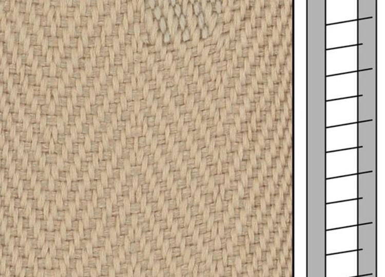 1 m / Textilstegband F0512 44/53/T38 light beige  (best.vara 10 dgr)