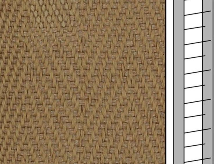 1 m / Textilstegband F0513 44/53/T38 dark beige