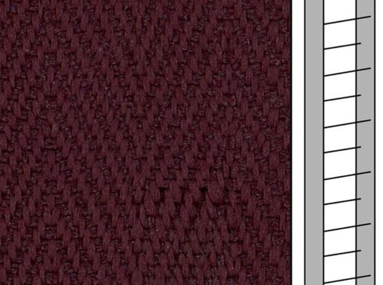 1 m / Textilstegband F0519 44/53/T38 mulberry  (best.vara 10 dgr)