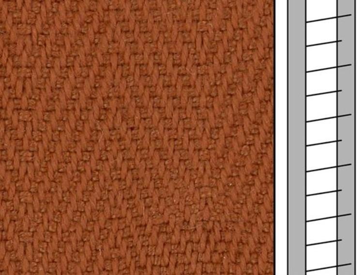 1 m / Textilstegband F0564 44/53/T38 siena