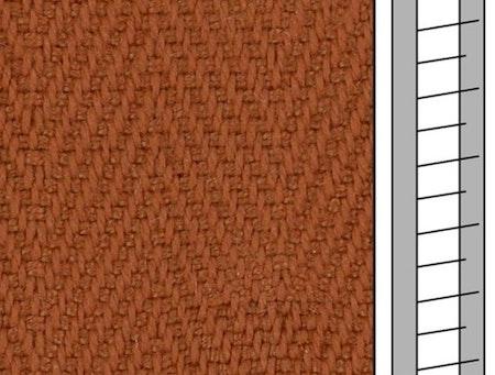 1 m / Textilstegband F0564 44/53/T38 siena (best.vara 10 dgr)