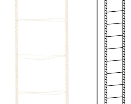 1m / Stegsnören D35 A15 28/37 Vanilla (lagervara)