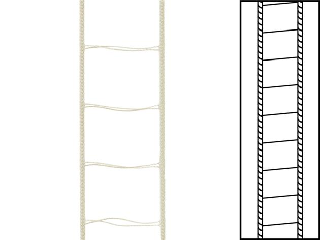 30 m / Stegsnören till persienner 25 mm Beige (best.vara min30 m)