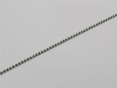 Kulkedja metall 2,5 mm till lamellgardin nedre vikter
