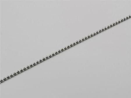 Kulkedja metall 2,5 mm till lamellgardin mekanism