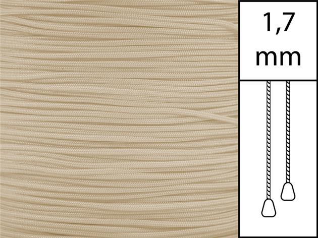 1 m / Persiennlina 1,7 mm A22 Dark beige (Lagervara)