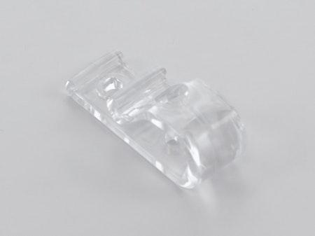 Säkerhetshållare för kedja Transparent (25H-3232137-00) TVÅ hål