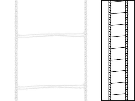 1m / Stegsnören D50  VIT (W04) A00 44/53 White