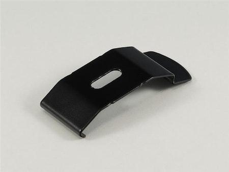 Monterings clips för laemellgardin 39 mm fäste SVART