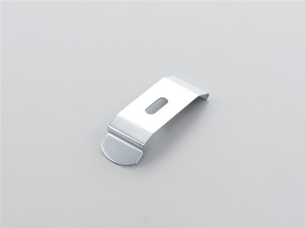 Monterings clips för laemellgardin 39 mm fäste SILVER