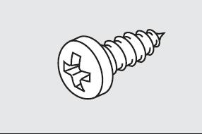 Skruv 3,5 x 13 mm (M16)