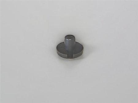 Bottenknapp 5,6 mm BRUN (M4)