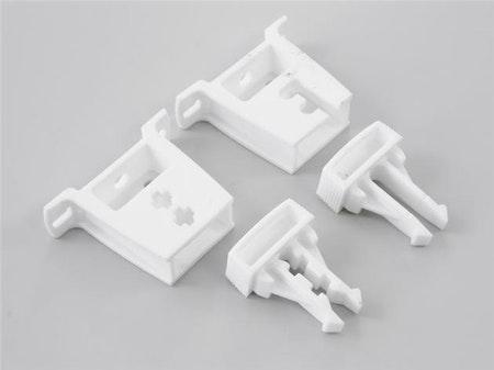Hållare för fjädermekanism, plast x 10 st ( A07M)