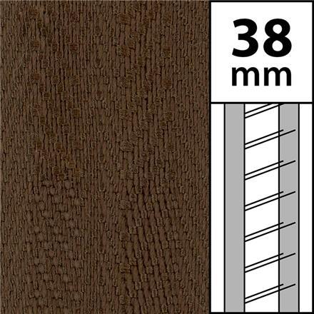 1 m / Textilstegband LT50 38/44/53-WN Walnut (best.vara min.10m)