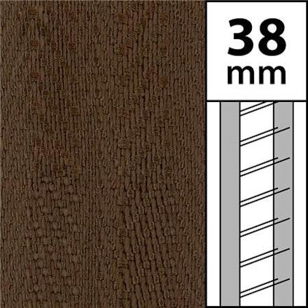 10 m / Textilstegband LT50 38/44/53-WN Walnut (best.vara min.10m)