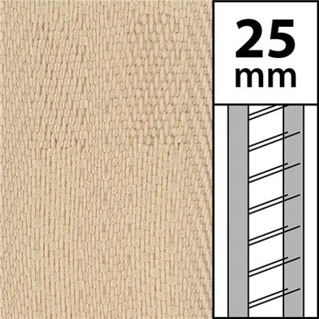 1m / Textilstegband LT50-25-44-53-BG Beige  (best.vara 10 dgr - min.10 m)
