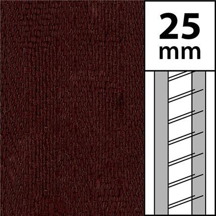1m / Textilstegband LT50-25-44-53-BR Brown (best.vara 10 dgr)