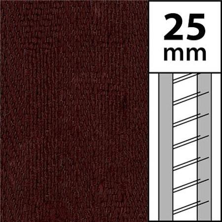 10 m / Textilstegband LT50-25-44-53-BR Brown (best.vara 10 dgr)