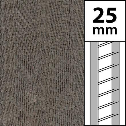 1m / Textilstegband LT50-25-44-53-MC Mocca (best.vara 10 dgr)