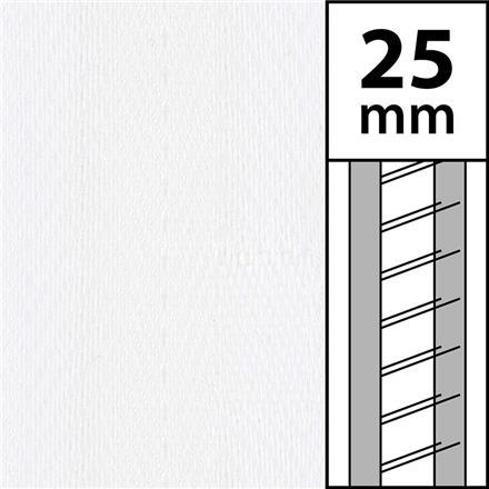10 m / Textilstegband LT50-25-44-53-WT White (best.vara 10 dgr)