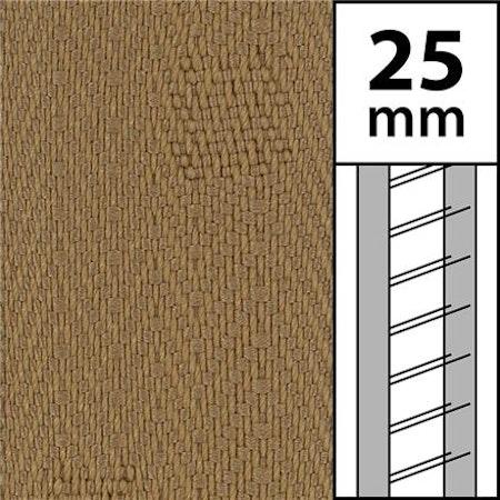 1m / Textilstegband LT50-25-44-53-DB Dark beige (best.vara 10 dgr)