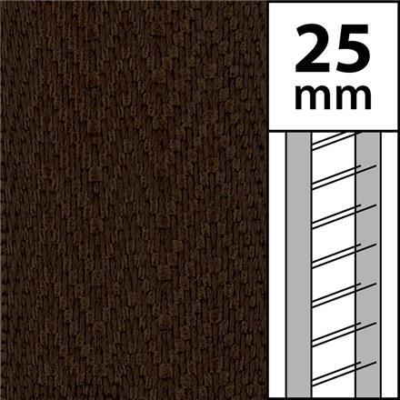 1m / Textilstegband LT50-25-44-53-CC Cocoa (best.vara 10 dgr)