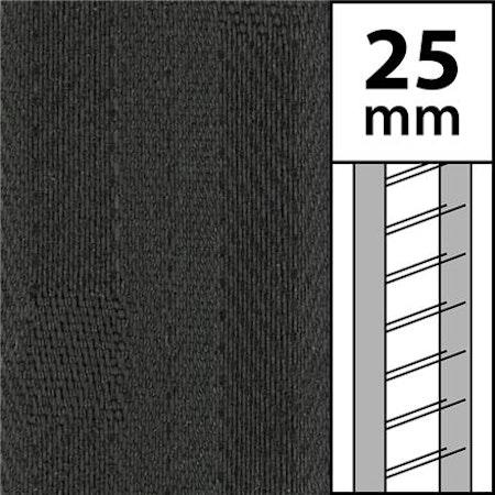 1m / Textilstegband LT50-25-44-53-AN Antracit (best.vara 10 dgr)