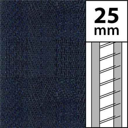 1m / Textilstegband LT50-25-44-53-BL Blue (best.vara 10 dgr)