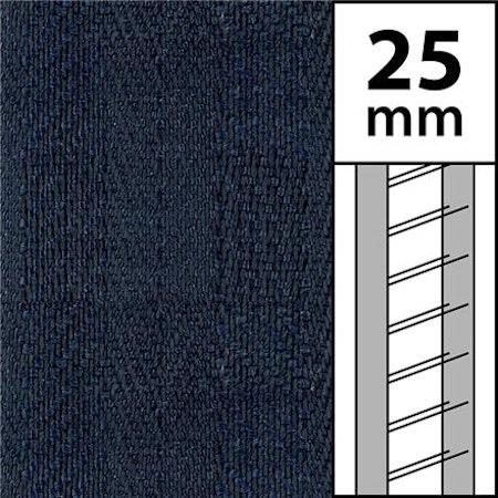 10 m / Textilstegband LT50-25-44-53-BL Blue (best.vara 10 dgr)