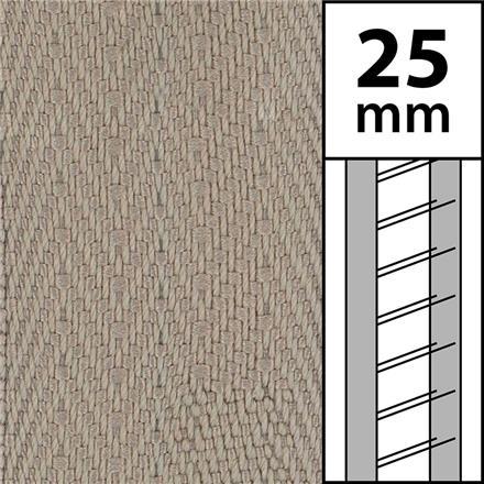 1m / Textilstegband LT50-25-44-53-OY Oyster (best.vara 10 dgr)