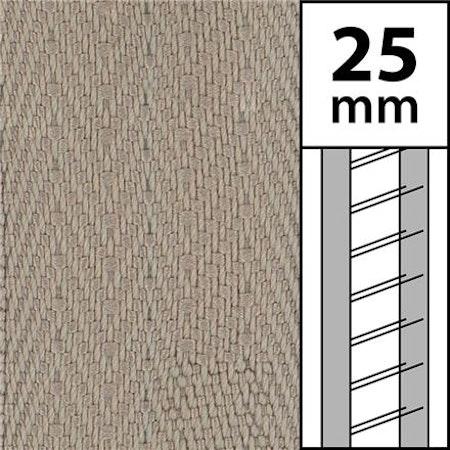 10 m / Textilstegband LT50-25-44-53-OY Oyster (best.vara 10 dgr)
