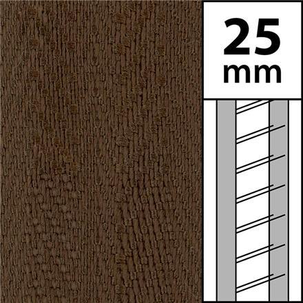 1m / Textilstegband LT50-25-44-53-WN Walnut (best.vara 10 dgr)