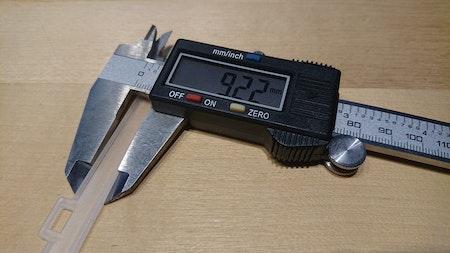 Lamellhängare 127 mm (A19L)