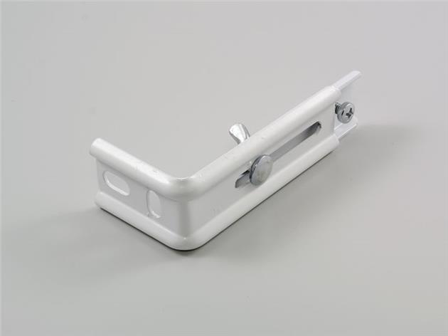 Väggkonsol lamellgardin 80-120 mm