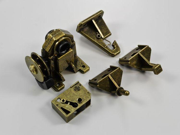 Mekanism 50 mm Retro Cord Brons (A28 L)