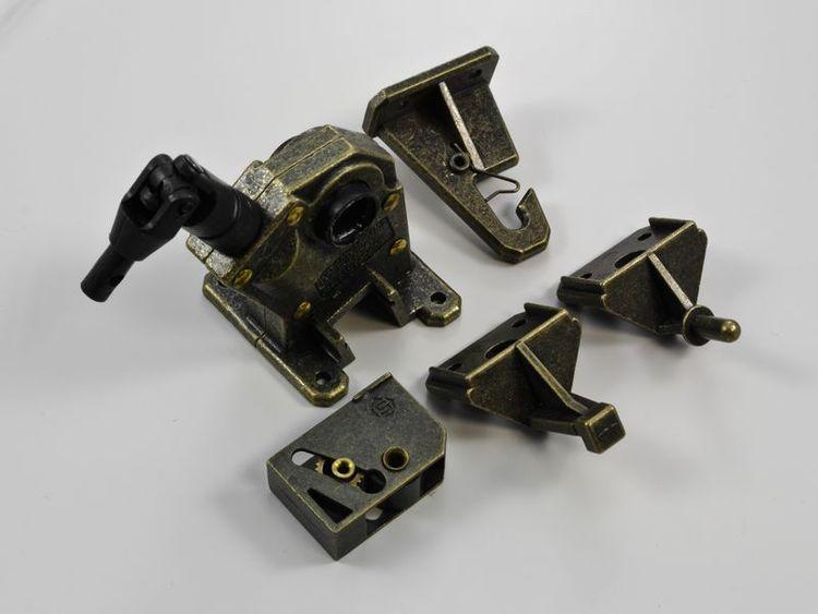 Mekanism 50 mm Retro Vand Brons (A28E)