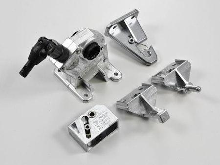 Mekanism 50 mm Retro Vand Silver (Best.vara)