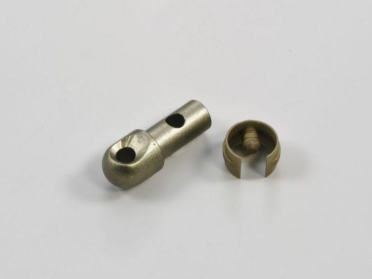 Vridstångs hake Retro-Classic brons (A28 B)