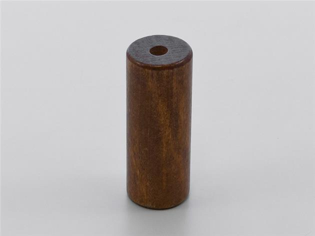 Lintofs CYLINDER i TRÄ STOR 55x21 mm 5013 Cherry