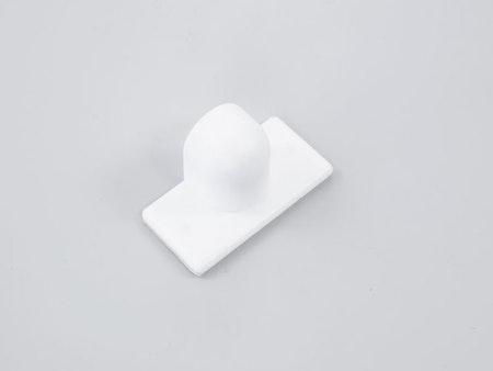 1 st Magnet DD vinklad VIT för tejpomontering (A29L)