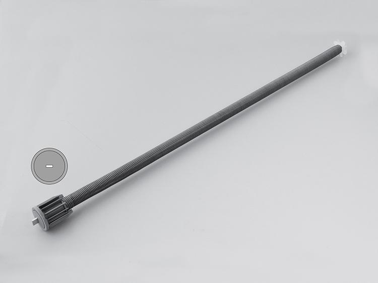 Fjädermekanism 38 mm 5,0 kg / 650 mm