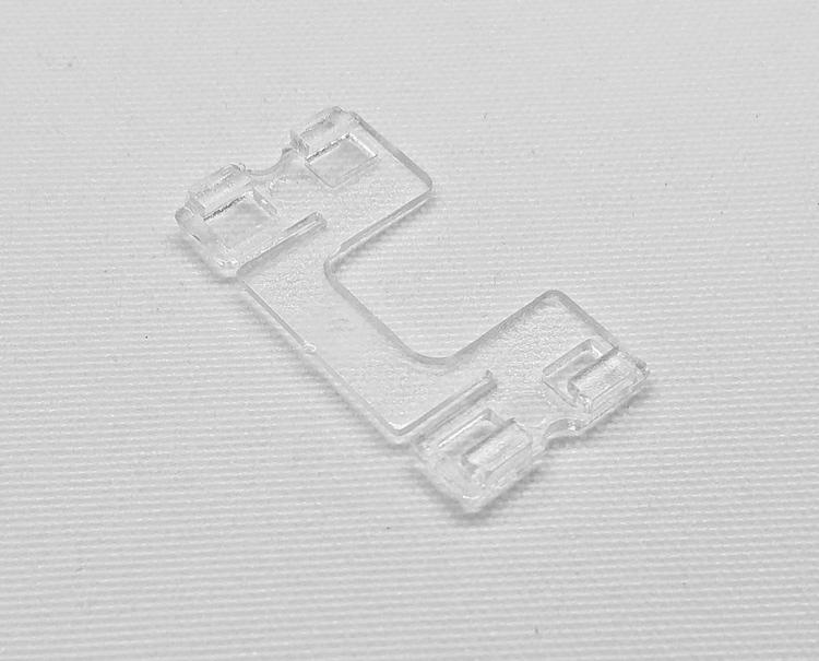 Lamellclips Platt 25 mm Lexan Plast (A01H)