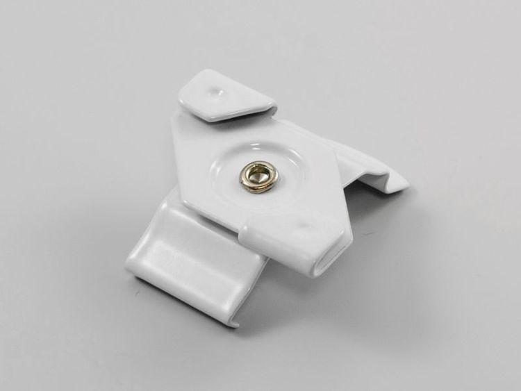 Monterings clips för lamellgardin UNDERTAK (A19K) VIT