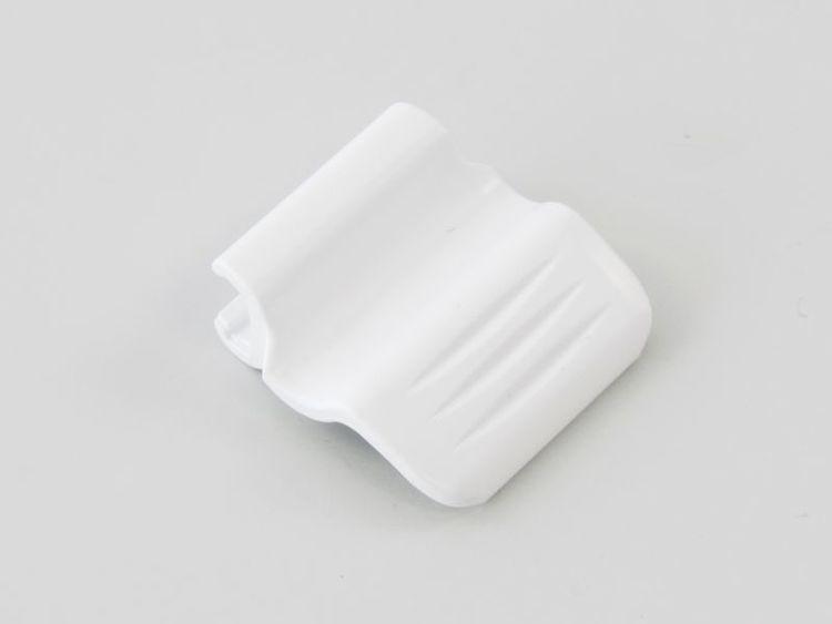 Handtag Plissegardin VEGAS VIT (A24C)