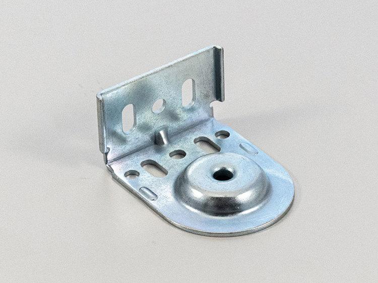 Monteringsbeslag (hål) Galvat fjädermekanism 25 mm (A27B)
