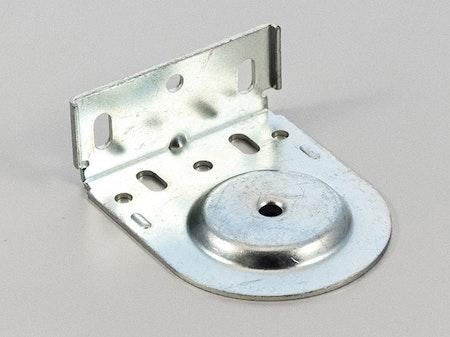 Monteringsbeslag (hål) Galvad fjädermekanism 38 mm (A27D)